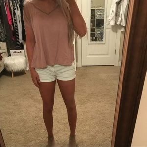 adorable v neck top